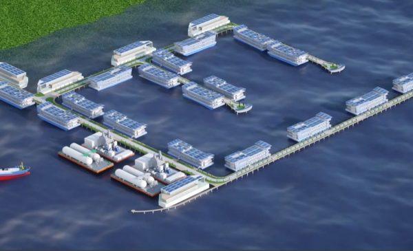 Keppel Data Centers подписывает очередной меморандум о взаимопонимании в рамках проекта по строительству плавучих дата-центров с охлаждением серверов забортной водой